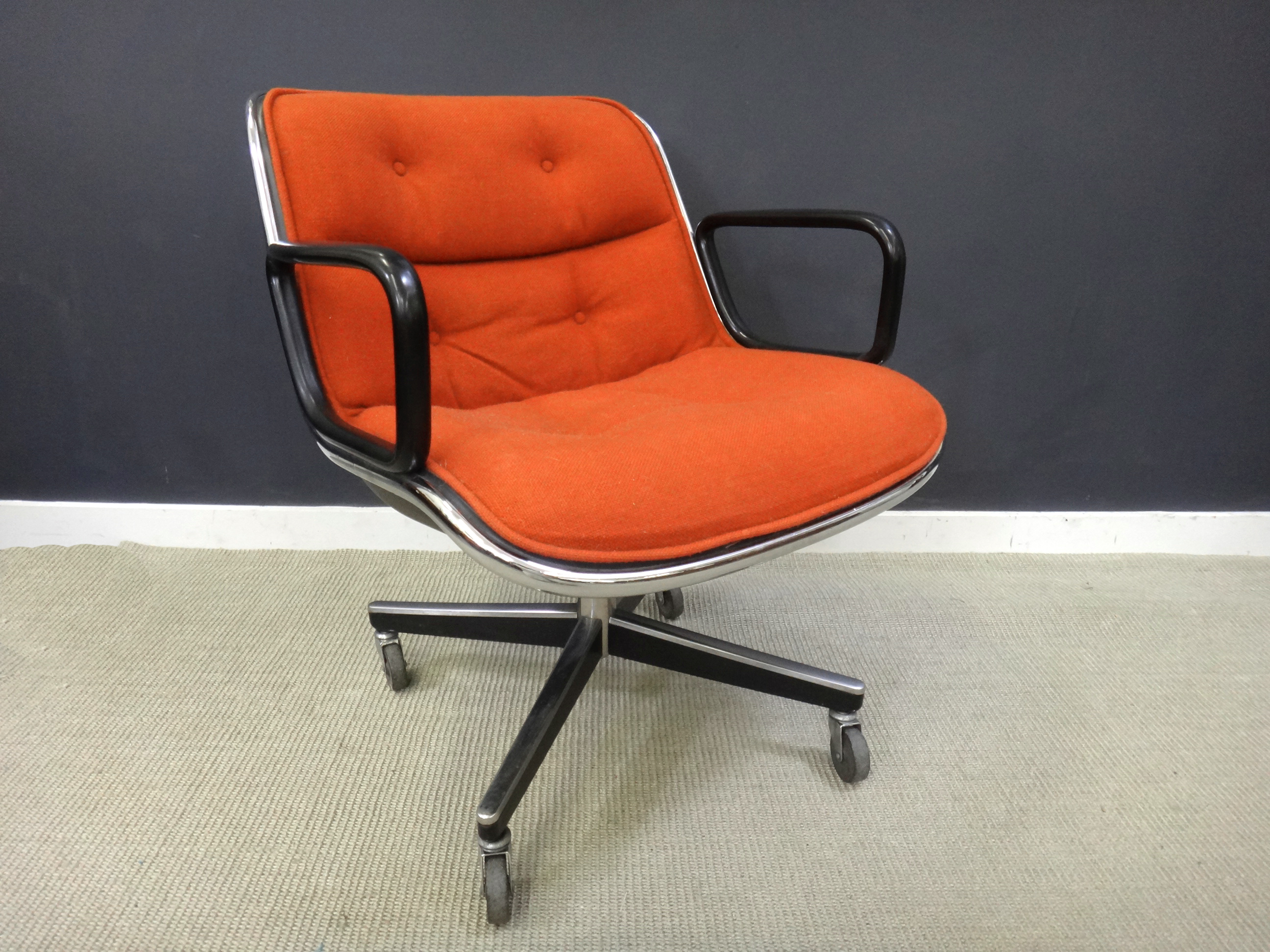 Vintage Knoll Office Chair Retrocraft Design Collection Seating