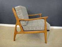 Mid Century Italian Upholstered Lounge Chair - Retrocraft ...