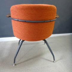 Seng Chicago Chair Chairs For Sale Ebay Pair Mid Century Upholstered Retrocraft Design