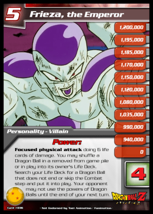 36 Frieza the Emperor