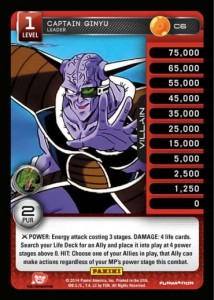 C06 Captain Ginyu - Leader Lv. 1