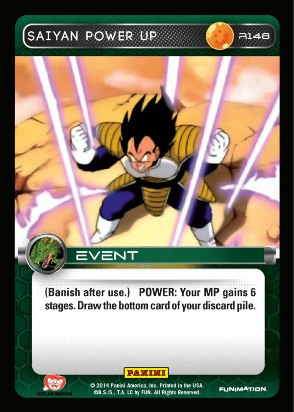 Preview R148 Saiyan Power Up