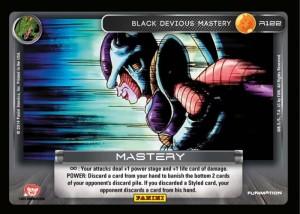 R122 Black Devious Mastery