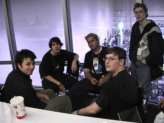 At the 2004 DBZ Atlanta Regionals with some of my buddies. It's amazing how different I looked back then.