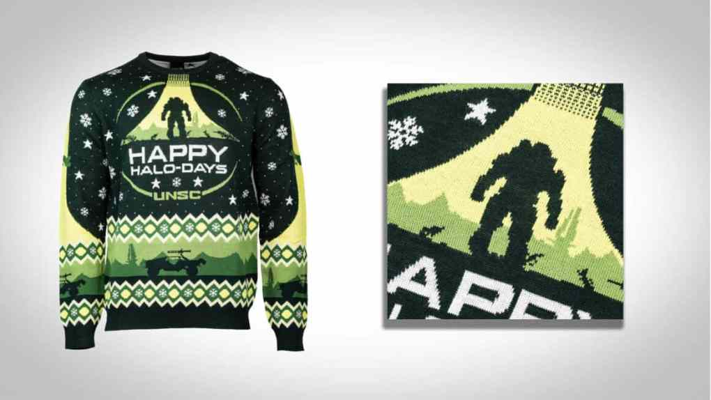 halo christmas jumper