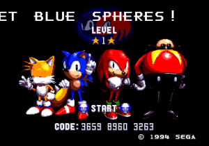 blue sphere screen