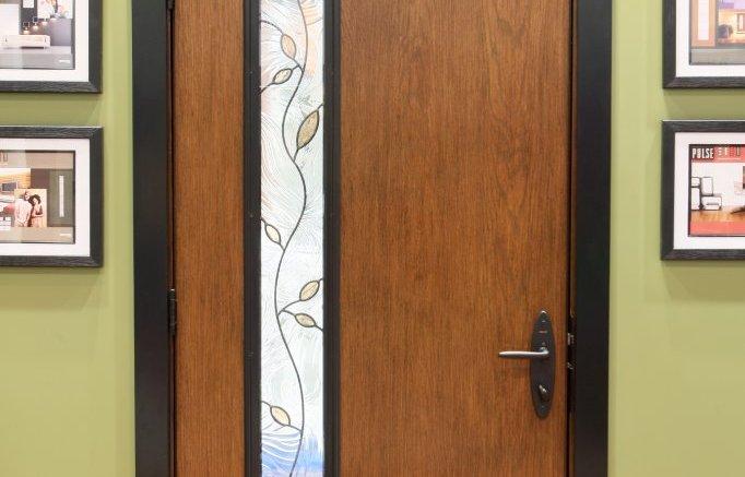 Door Features Clean Lines And Crisp Angles Retrofit