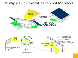The multiple functions of rooftop monitors. RENDERING: FCGA Architects
