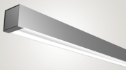 Peerless' Square, a complete suite of LED luminaires in linear suspended, wall-mount and surface-mount models