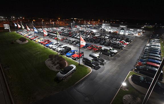 Retrofit Leds For Car Dealerships Improve Exterior