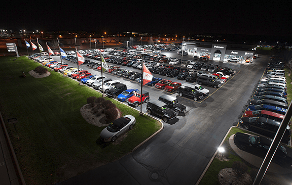 SMS Building Systems Introduced An LED Lighting Solution For Automotive And  Pre Owned Vehicle Companies