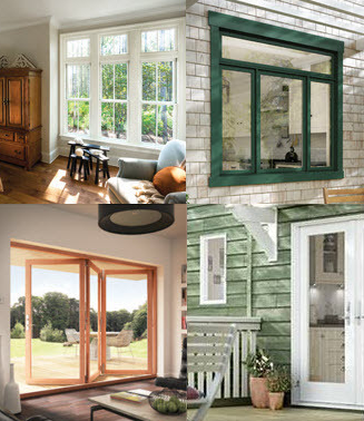 JELD WENu0027s Siteline Wood And Clad Wood Window And Patio Door Collection  Combines High