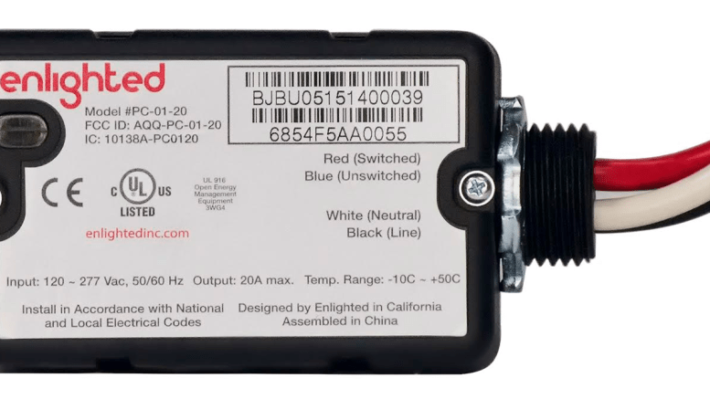 Enlighted Inc. launches its Plug Load Controller, designed to significantly reduce unnecessary outlet energy use through intelligent control.