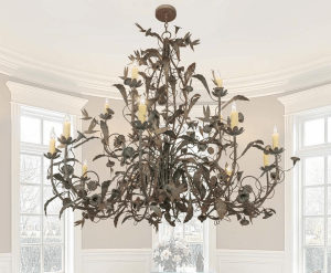 2nd Ave Lighting's Le Printemps 15-light Chandelier