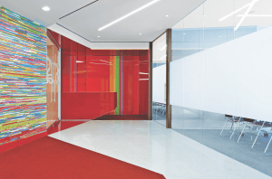 CARVART took home the Gold in the Architectural and Decorative Glass category of the 2016 Best of NeoCon competition.