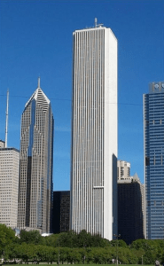 Western Specialty Contractors was selected in 2011 to perform a 100 percent façade sealant replacement on the Aon Center building at a cost of $3.1 million.