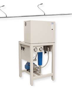 DRI-STEEM Corp. offers a High Pressure Atomizing System (HPAS) featuring an advanced water pump that significantly reduces maintenance demand.