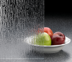 MI Windows and Doors has added a new pattern in its Obscure Glass product line—Rain Glass—that mimics the look of rain running down a smooth piece of glass.