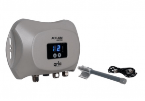Acclaim Lighting has released its Aria Wireless DMX system, a compact, outdoor-rated wireless transceiver that can act as the sending and receiving point for DMX data.