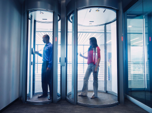 The technology available to security practitioners is vast, and it is growing, changing and evolving constantly. Everything from basic cameras and locks to biometric sensors and 3-D visualization is available for deployment on building entrances.