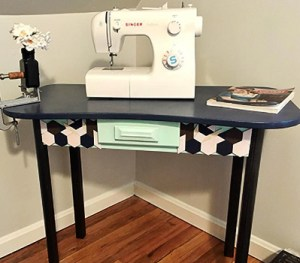 Sewing table.