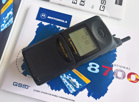 Motorola 8700 International