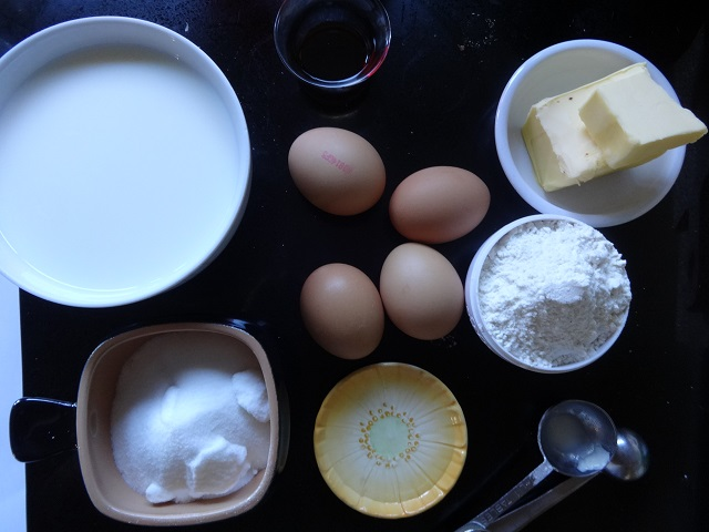 Magic Cake Ingredients