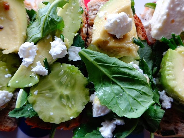 Cuban Aguacate Salad and Dressing