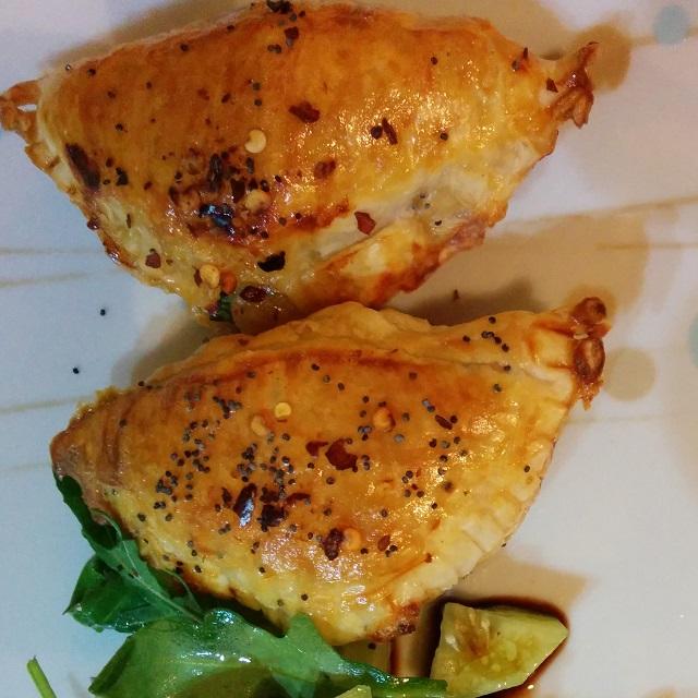 Smoked Trout Empanadas