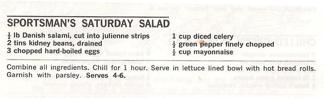Sportsman's Saturday Salad recipejpg
