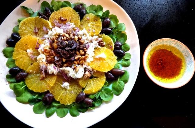 Watercress and Orange Salad 6