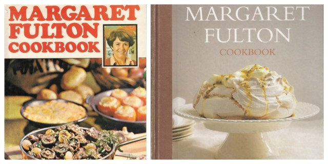 Margaret Fulton Cookbook Covers - Then and Now