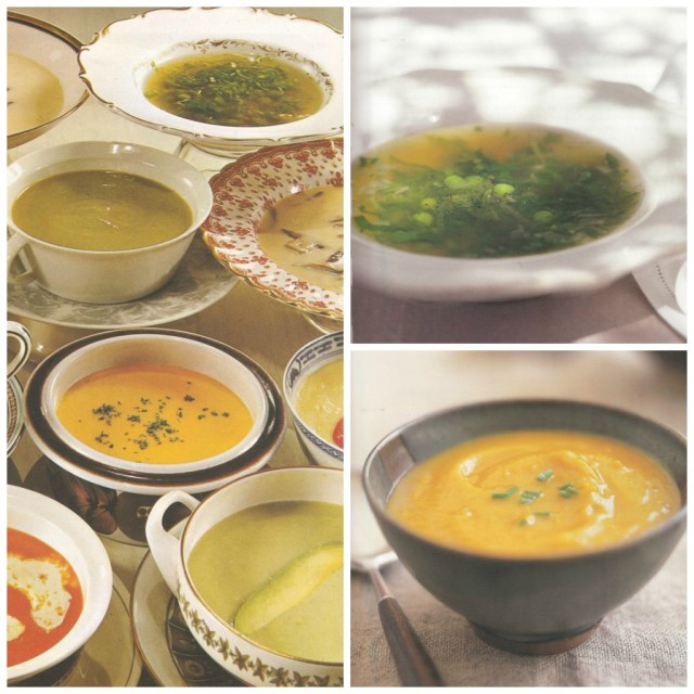 Margaret Fulton Cookbook Soup Collage