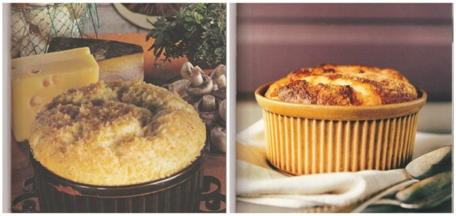 Cheese Souffle - Then and Now