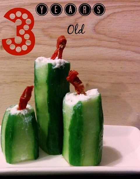 Cucumber Candlesticks