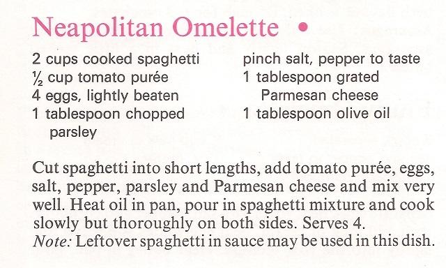 Neapolitan Omelette