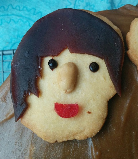 Beatles Cake John