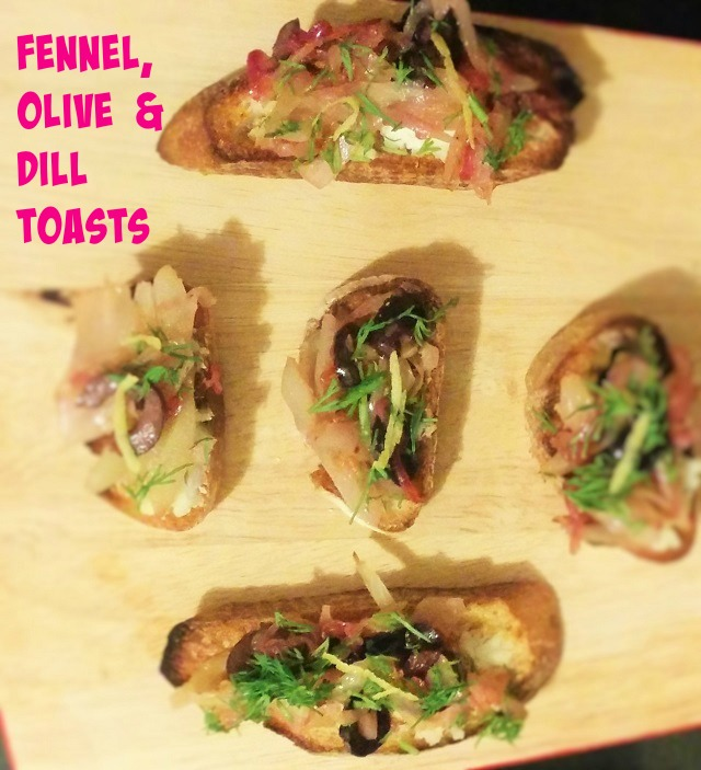 Fennel, Olive and Dill Toasts2