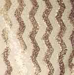 Pailletten Gold-Weiß