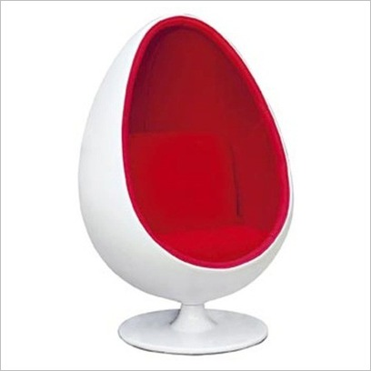 Chairs In Unusual ShapesThe Egg Chair  Retro Furnishing