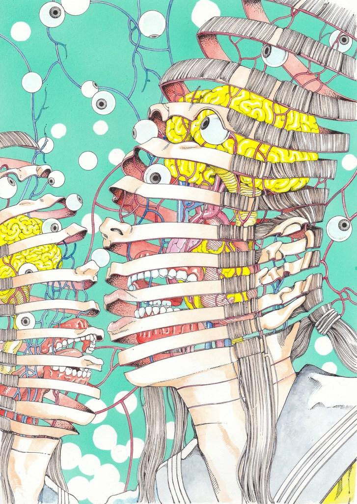 shintaro kago Two_spirals