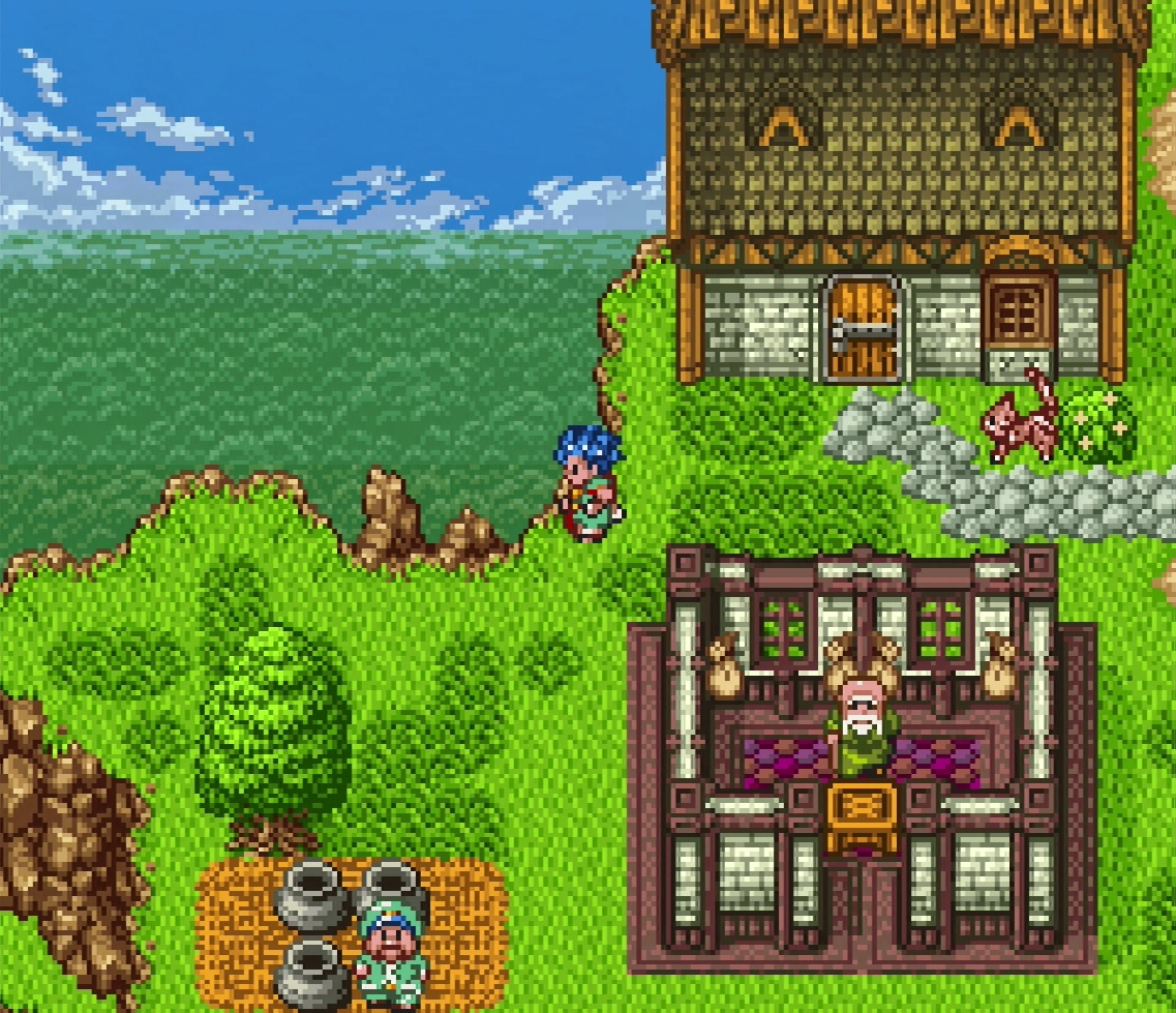 Dragon Quest Vi Fliegender Teppich Snes Ds Review Dragon Quest 6 Retrogame Man
