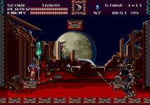 castlevania bloodlines genesis screenshot 2