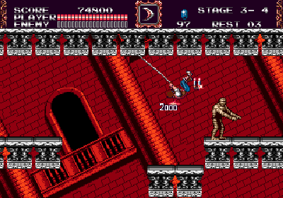 castlevania bloodlines genesis screenshot 3