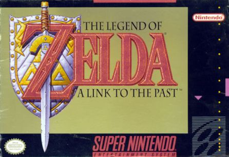 the legend of zelda a link to the past snes box art front cover