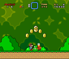 super mario world snes screenshot 2