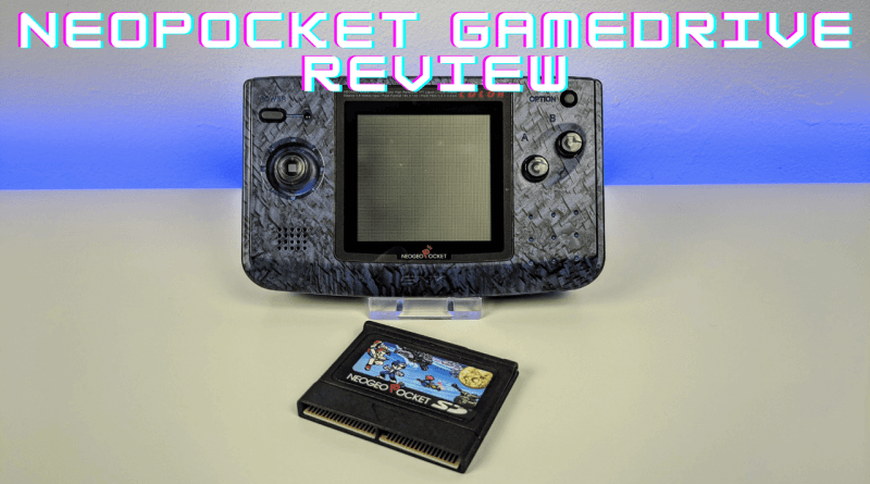 RetroHQ NeoPocket GameDrive flash cart for Neo Geo Pocket Review