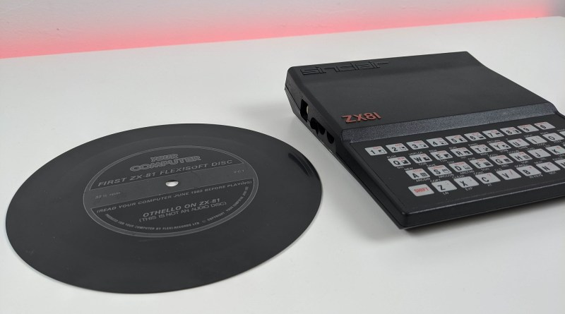 ZX-81 Othello Flexi Disc with ZX-81