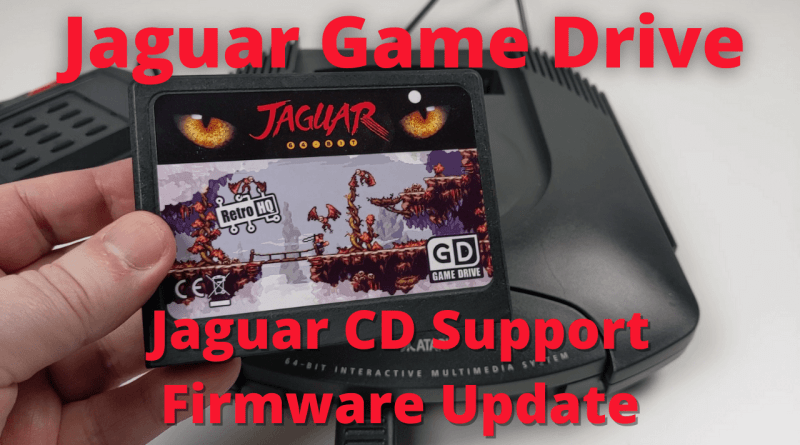 Jaguar Game Drive CD firmware update