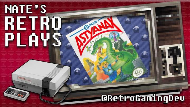 Astyanax for the Nintendo Entertainment System